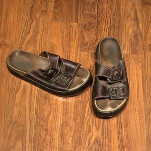 Aldo Stone Ridge - Birk-Style Sandals - 7.5